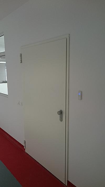 Еднокрила пожароустойчива врата EI120