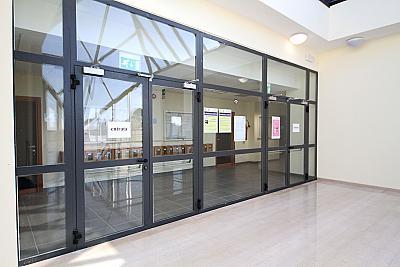 Стъклени пожароустойчиви врати Vitrex-F6 или Vitrex-F7